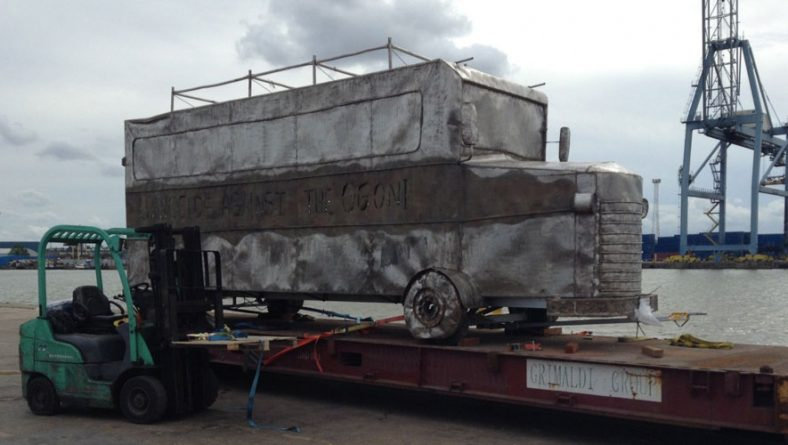 Seizure of Ken Saro-Wiwa Memorial Bus