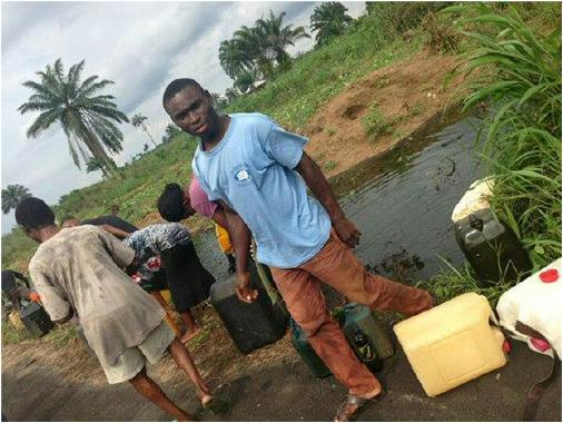 ANOTHER OIL SPILL REPORTED IN OGONI TERRITORY, TIME TO IMPLEMENT UNEP REPORT?